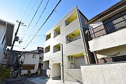 兵庫県神戸市長田区長楽町4丁目の賃貸アパートの外観