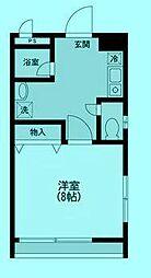 サンヒルズIII[4階]の間取り
