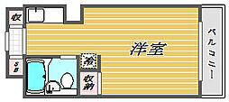 東京都北区赤羽西6丁目の賃貸マンションの間取り
