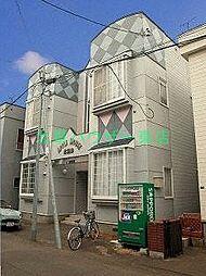北海道札幌市東区北三十六条東2丁目の賃貸アパートの外観