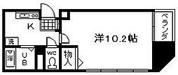 WIN和泉大宮[207号室]の間取り