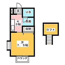 MGハイム[2階]の間取り