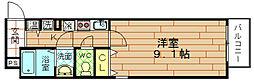 セレブコート弁天[5階]の間取り