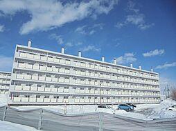 ビレッジハウス江別1号棟[2階]の外観