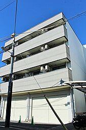 黒川太子橋マンション ネット無料リノベ部屋[4階]の外観