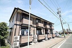 愛知県名古屋市名東区平和が丘4丁目の賃貸アパートの外観