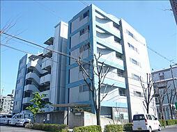 大阪府茨木市真砂3丁目の賃貸マンションの外観