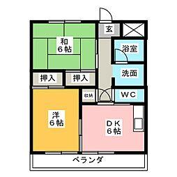 横電中町ビル[3階]の間取り