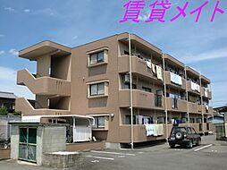 三重県伊勢市竹ケ鼻町の賃貸マンションの外観