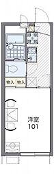 レオパレスグレイスSHINOII[2階]の間取り