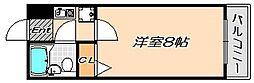 兵庫県神戸市須磨区妙法寺字蓮池の賃貸マンションの間取り