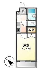 シティライフ覚王山[3階]の間取り