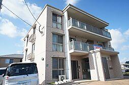 福岡県古賀市今の庄2丁目の賃貸マンションの外観