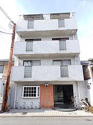京都府京都市下京区上若宮町の賃貸マンションの外観