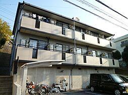 千葉県千葉市稲毛区黒砂台3丁目の賃貸アパートの外観