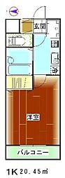 アーバン武蔵小金井[4階]の間取り
