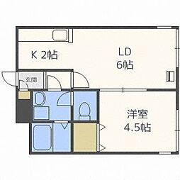 LEE SPACE栄町[1階]の間取り