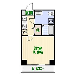 グランフォースお花茶屋[4階]の間取り