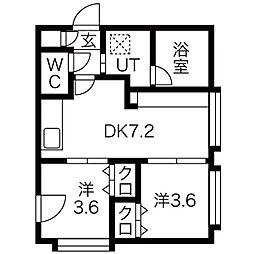 菊水駅 5.3万円