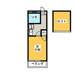 Livex住吉[2階]の間取り