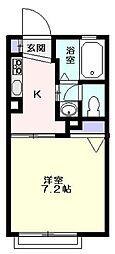 幸ハイツ  -デザインリフォーム賃貸アパート-[103号室]の間取り