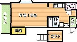 AC浅川[1階]の間取り