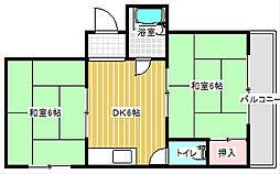 岩本マンション[3階]の間取り