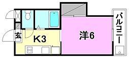 AQUAMARINE UM (アクアマリン ウン)[103 号室号室]の間取り