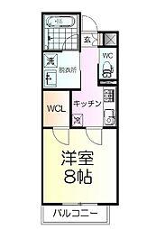 仙台市営南北線 北四番丁駅 徒歩3分の賃貸マンション 12階1Kの間取り