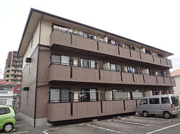 愛媛県松山市立花3丁目の賃貸アパートの外観