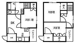 ジュネスIWATA[11階]の間取り