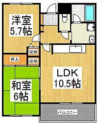 第2アークビル[2階]の間取り