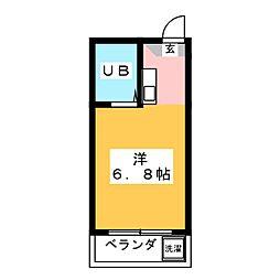 ドール本願寺[1階]の間取り