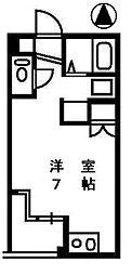 メゾンラミュール[2階]の間取り