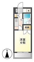 CASA NOAH 名古屋2[3階]の間取り