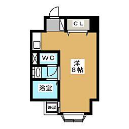 FLAT136[6階]の間取り