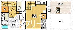 Maisonetic Covo博多(メゾンティックコーヴォ)[1階]の間取り