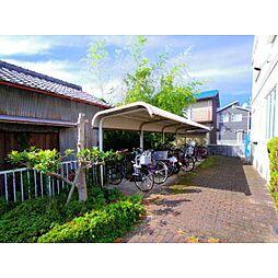 奈良県橿原市山之坊町の賃貸アパートの外観