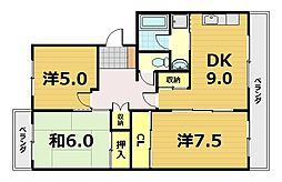 Nouvelle GEKKEIKAN[3階]の間取り
