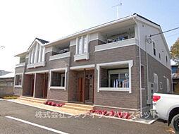 茨城県龍ケ崎市上町の賃貸アパートの外観