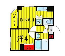 Terrace東浅草[2階]の間取り