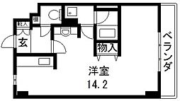 FIELD(フィールド)[305号室号室]の間取り