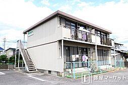 愛知県岡崎市筒針町の賃貸アパートの外観