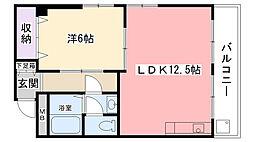第7協和荘[304号室]の間取り