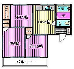 町田荘[2階]の間取り