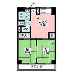 タキビル[4階]の間取り