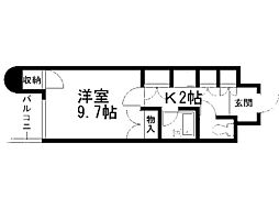 FC南7条[505号室]の間取り