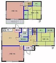 [一戸建] 茨城県水戸市石川1丁目 の賃貸【/】の間取り