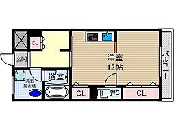 西駅前吉田マンション[1階]の間取り