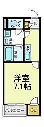 グレースヴィラ昭和町[2階]の間取り